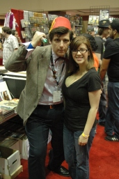 Amanda with older 11th Doctor