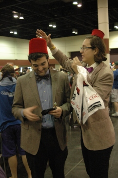Doctor Who cosplayers