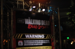 Entrance to The Walking Dead house