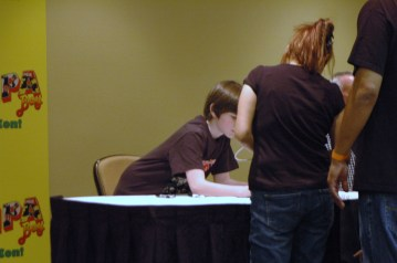 Chandler Riggs aka Carl from The Walking Dead