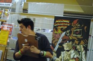 "artist Michael ""Locoduck"" Duron"