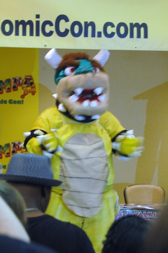Bowser won 1st in costume contest