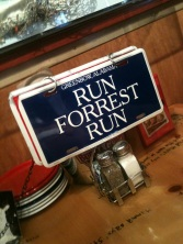 At Bubba Gump Shrimp in City Walk
