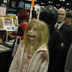 Zombie from Orlando's MegaCon 2012