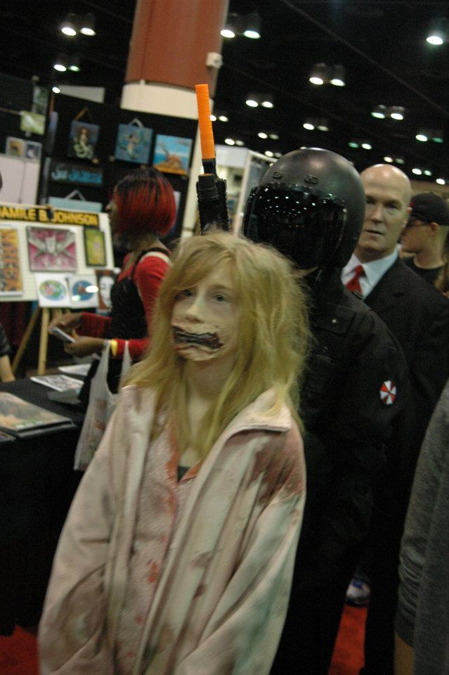Teddy Bear Girl zombie from Orlando's MegaCon 2012