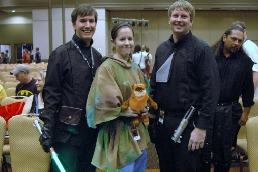 Nate as Luke Skywalker in Return of the Jedi at Dragon Con 2012