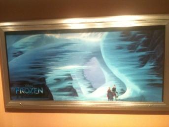 Pixar's Frozen artwork