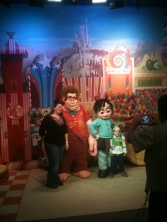 Wreck-it-Ralph at Art of Animation