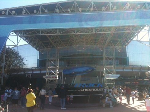 Updated Test Track at EPCOT