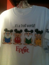 Troll shirt in Norway Showcase