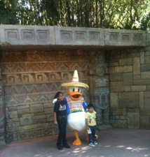 Donald Duck in Mexico Showcase