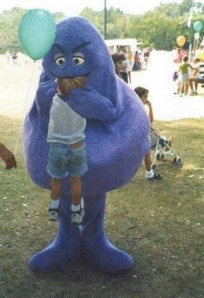 Grimace-Eating-A-Child