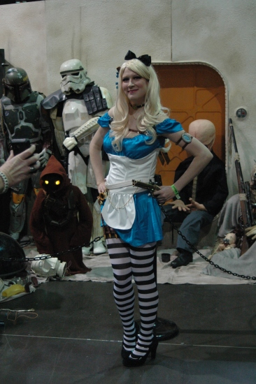 Alice at the 501st booth