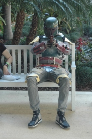 Boba Fett taking a break
