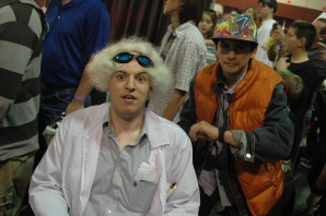 Doc Brown and Marty