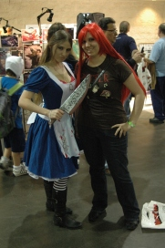 Theresa with Alice Cosplayer