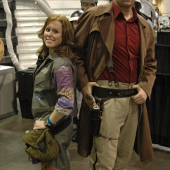 Firefly cosplayers