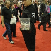 Imperial Officer offering me candy