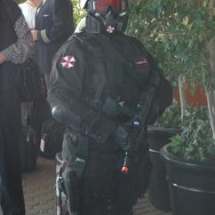Umbrella Corp. security keep the peace