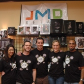 JMD Retail staff and booth