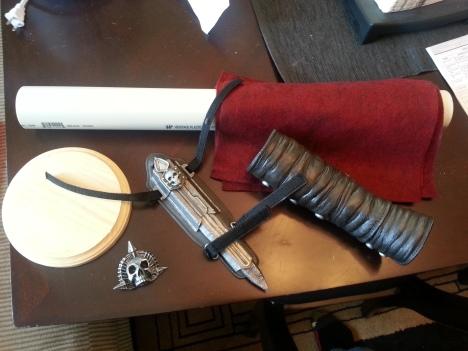 Materials and hidden blade