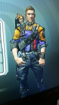 Axton from Borderlands wearing purple