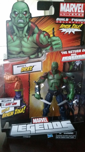 Drax The Destroyer action figure