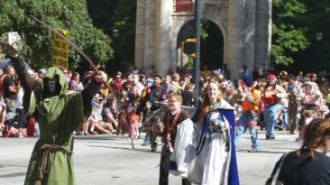 Borderlands group @ DragonCon 2014 parade