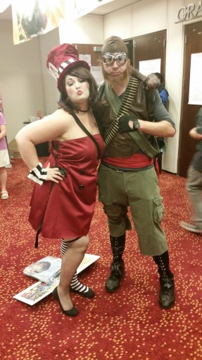 Moxxi and Mordecai @ DragonCon 2014