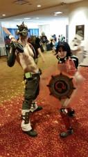 Krieg & Athena @ DragonCon 2014